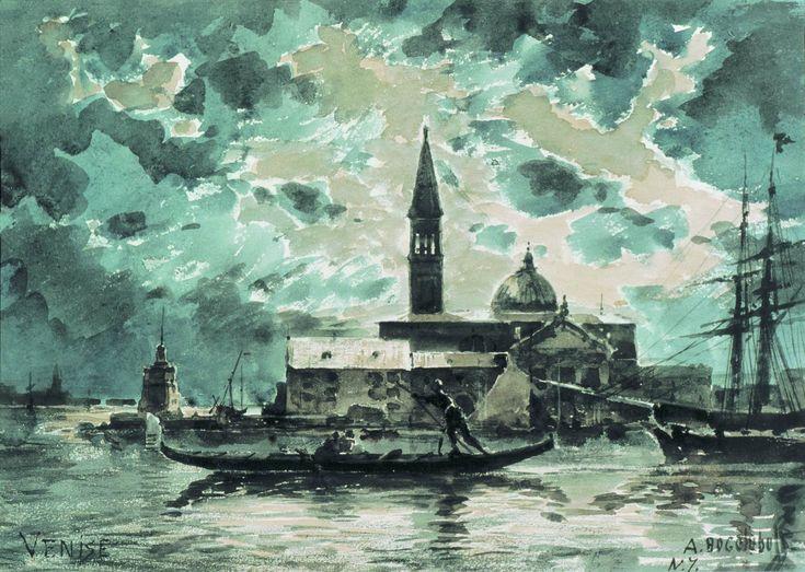 А. Боголюбов. Венеция. 1872. Саратовский государственный художественный музей