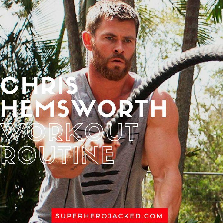 Chris Hemsworth Workout Routine for Thor Ragnarok