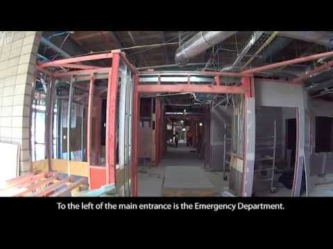 Welcome to the 3rd Project Waka Walkaround of the Whakatane Hospital since construction began back in March 2011. Jeff Hodson, Property Services General Manager takes us on a tour of the site and its progress to date.