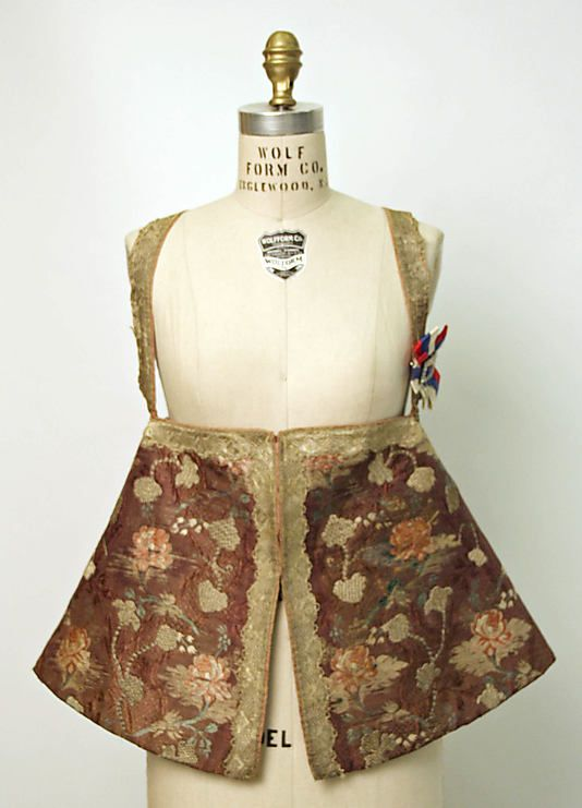 20-11-11  Bodice                                                                                      Date:                                        19th century                                                          Culture:                                        Russian                                                          Medium:                                        silk