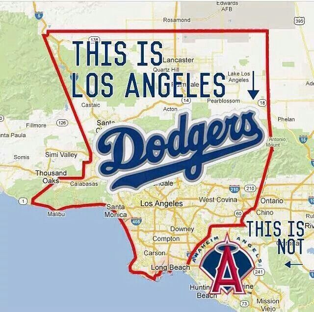 Hahaha I'll never get used to seeing my city before Anaheim's name