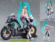 New Japan Anime Hatsune Miku Racing EV Mirai Ver. 19cm Display Figure Figma 233