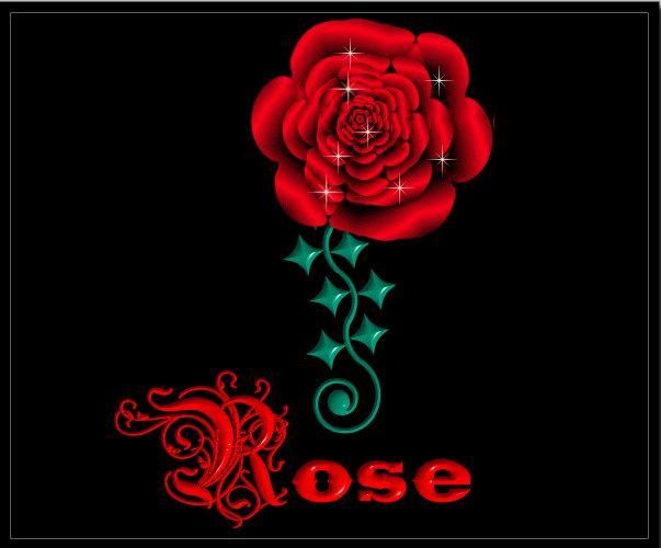 Картинки с надписями на имя роза