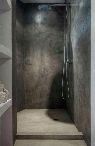 Resina scura bagno