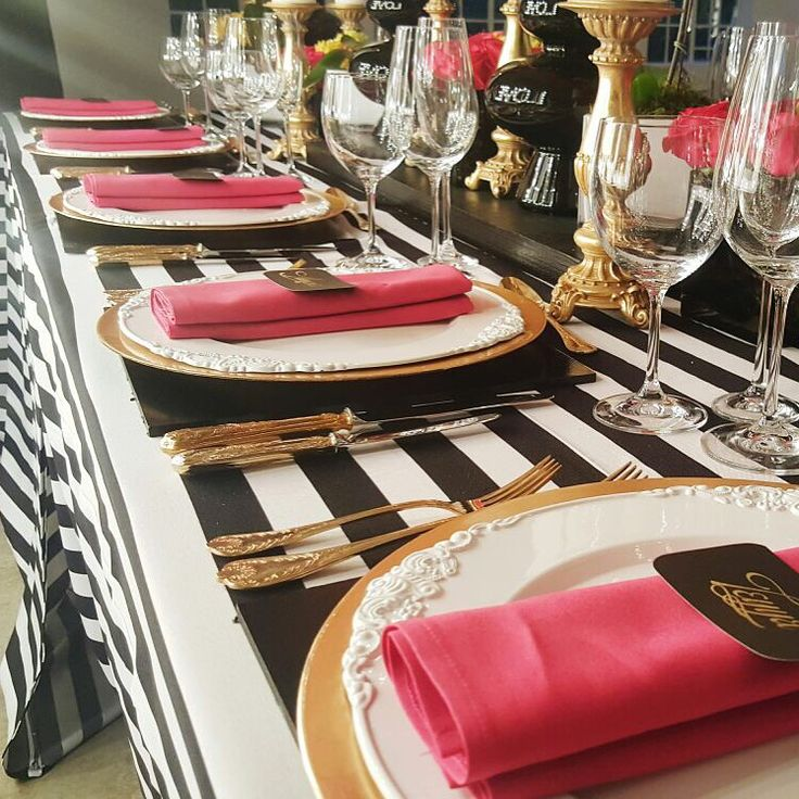 Opulent Wedding Table Design by founder of @RosesPearlsZA - Noma Bolani
