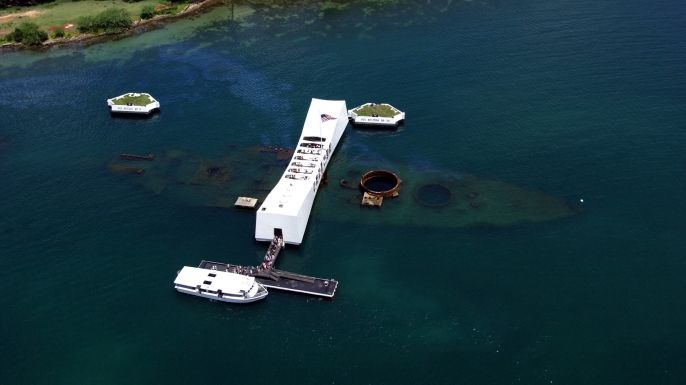 Explore little-known facts about the USS Arizona and Pearl Harbour.