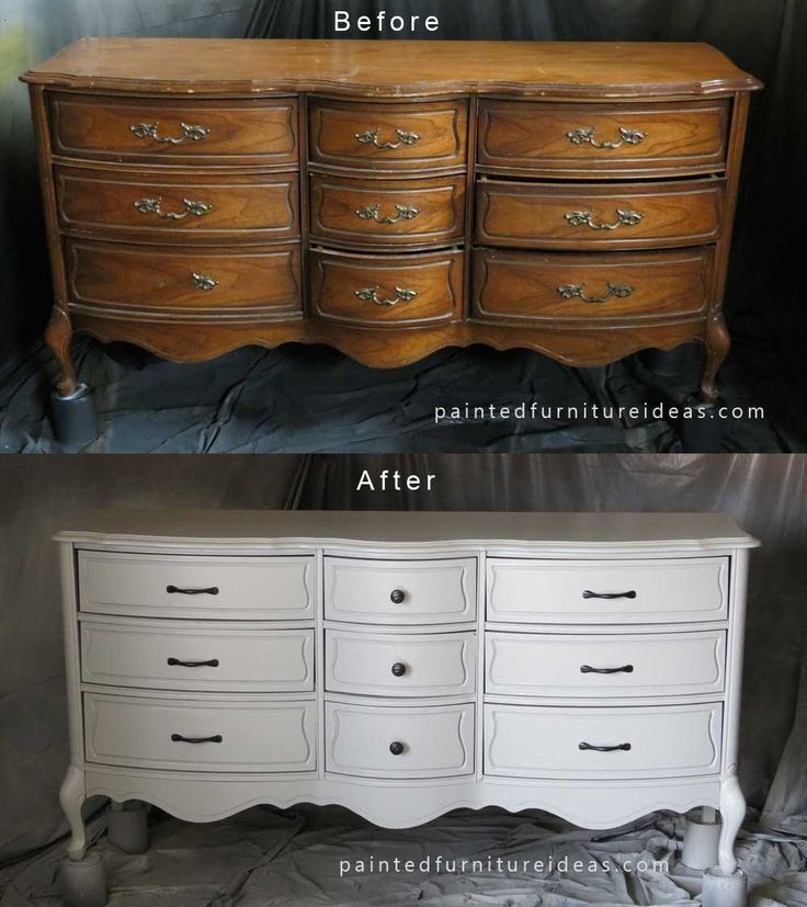 62 best images about french provincial dressers on pinterest vintage dressers gold dipped and for Refinishing bedroom furniture ideas