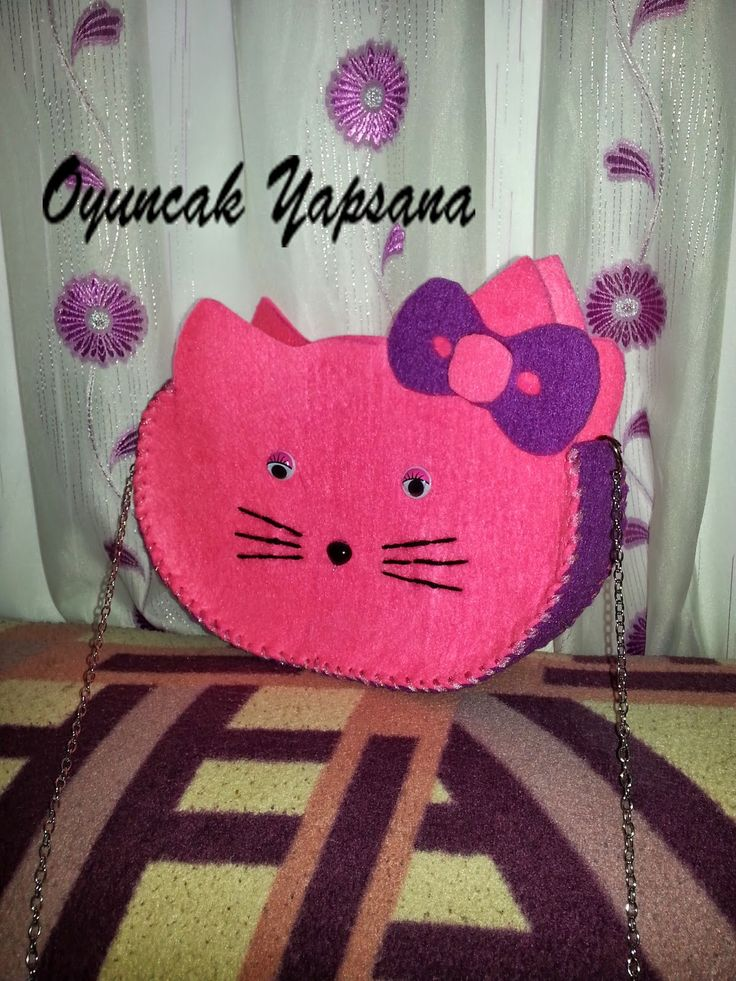 oyuncak yapsana: Hello Kitty Çanta