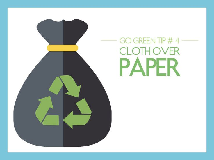 #GoGreen Tip #4: Cloth Over Paper - Do you use paper towels when you dry your hands? If you do, you're putting a lot of excess paper into the garbage that, in turn, clutters the environment. Instead, consider using a hand towel.