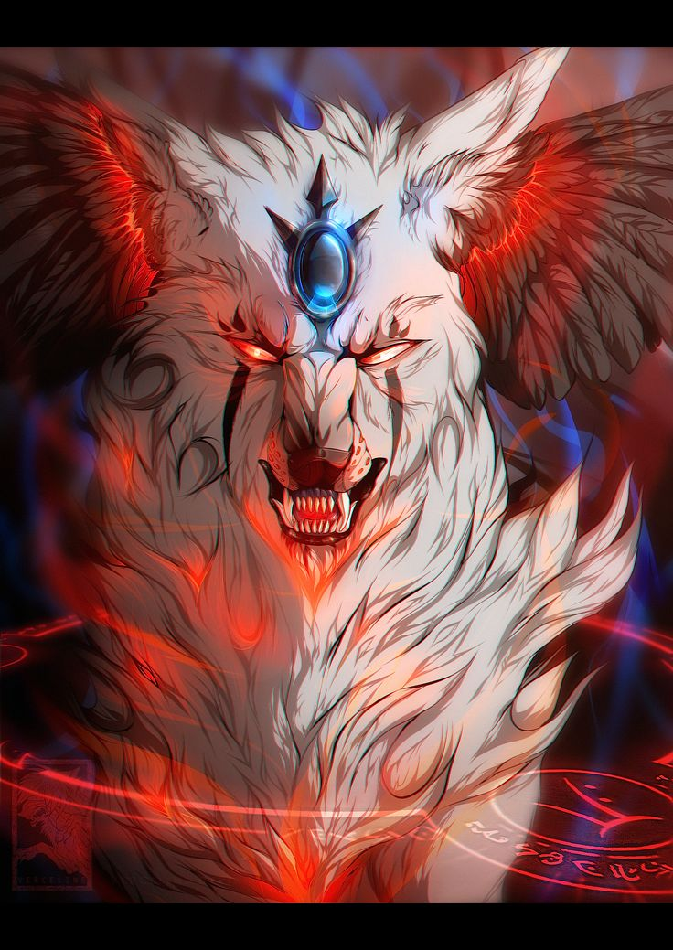 523 best creepy wolves anime images on pinterest - Wolf girl anime pictures ...
