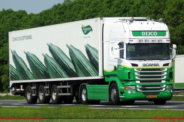 Cucumber truck Greenery