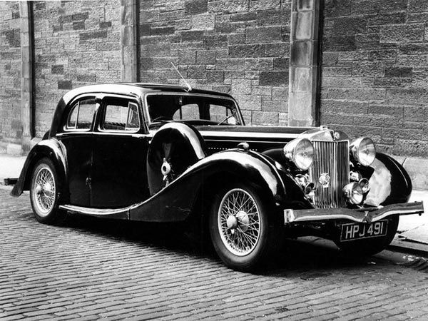 1939 MG WA Saloon