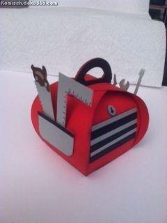Die Besten Kurvige Geschenkbox Die Toolbox meines Mannes #interiormodernos