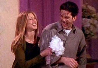 """Hello Mrs. Ross! Why hello Mr. Rachel!"""