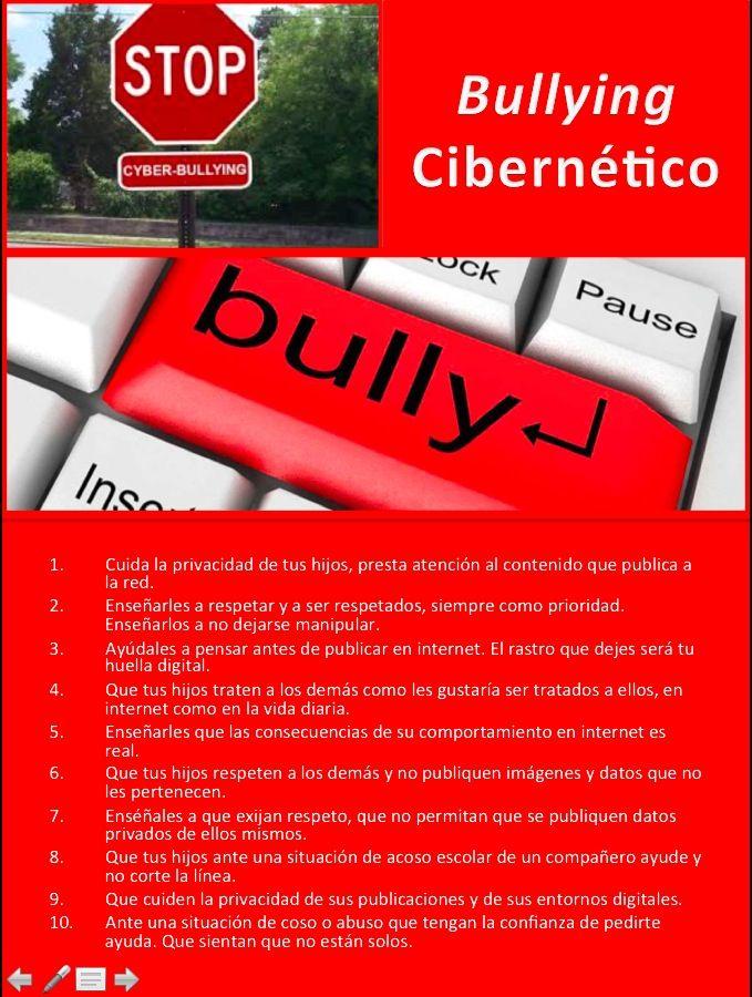 ¿Qué puedo hacer si mi hijo es bully cibernético?