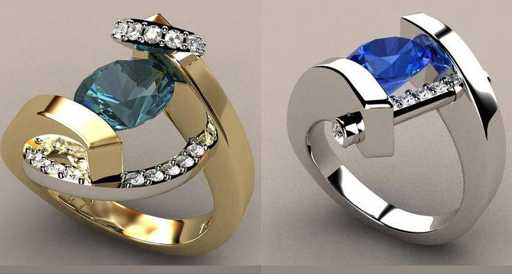 These are some of the most innovative designer ring creations in today's market, and these designs will endure the ages.   These designs are unique, and inspirational passion went into creating each one these gorgeous designs.