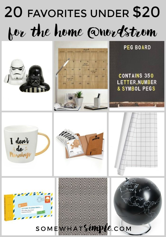 20 Favorite Things Under $20 - for the Home