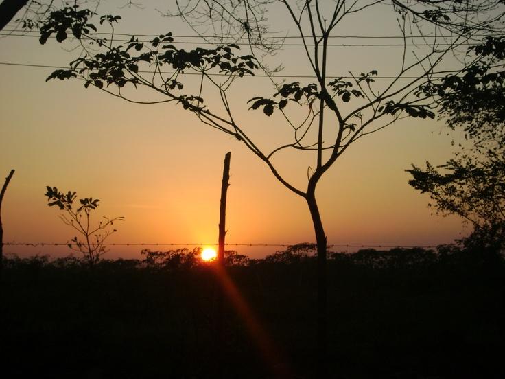 Sunset. Sahagún, Córdoba, Colombia