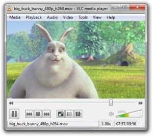 The vlc media player is full of technology.
