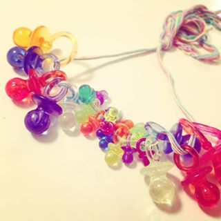 You accessorized with pacifiers. | 24 Signs You Grew Up In Norway In The '90s