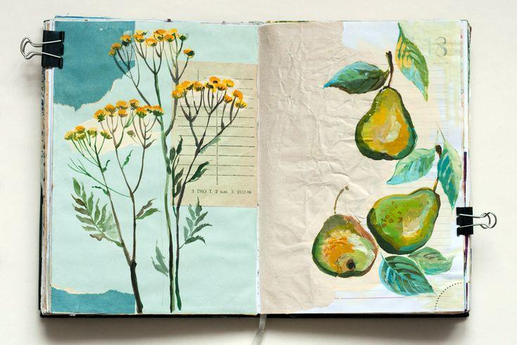 beautiful #sketchbook by vaneeva | flickr