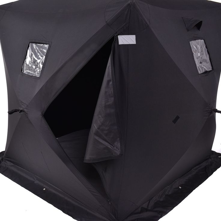 Tent style fish houses
