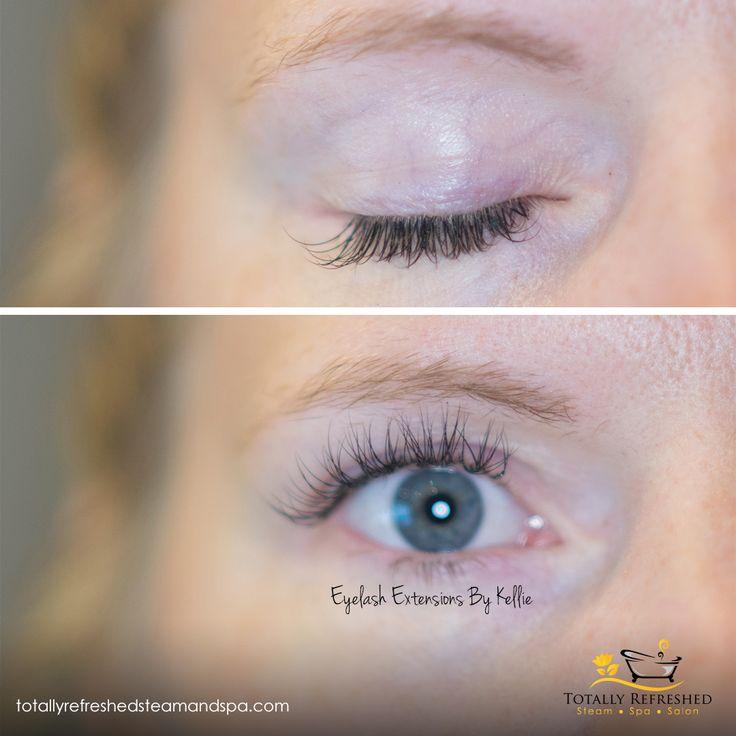 Touch up Classic Eyelash Extensions by Kellie - No Make up for days - Hello Lash Extensions