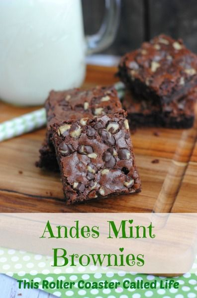 What a great thing to add to a batch of brownies! Ready to make your own Andes Mint Brownies?