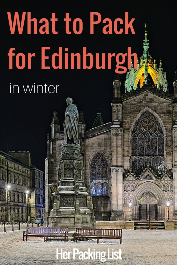 Katie shares what to pack for Edinburgh in winter as well as some tips for exploring the city and why she loves the capital of Scotland.