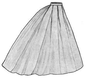 Best Ball Gown Skirt Pattern Free Contemporary - Wedding Dress ...