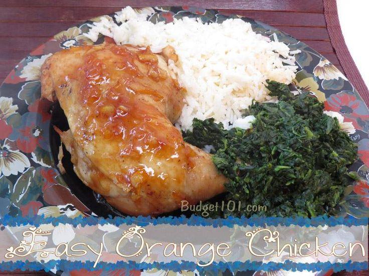 Orange chicken leg quarter recipes