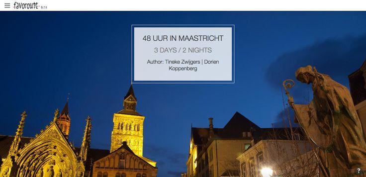 48 UUR IN MAASTRICHT by Tineke Zwijgers and Dorien Koppenberg. http://www.peecho.com/print/en/75177