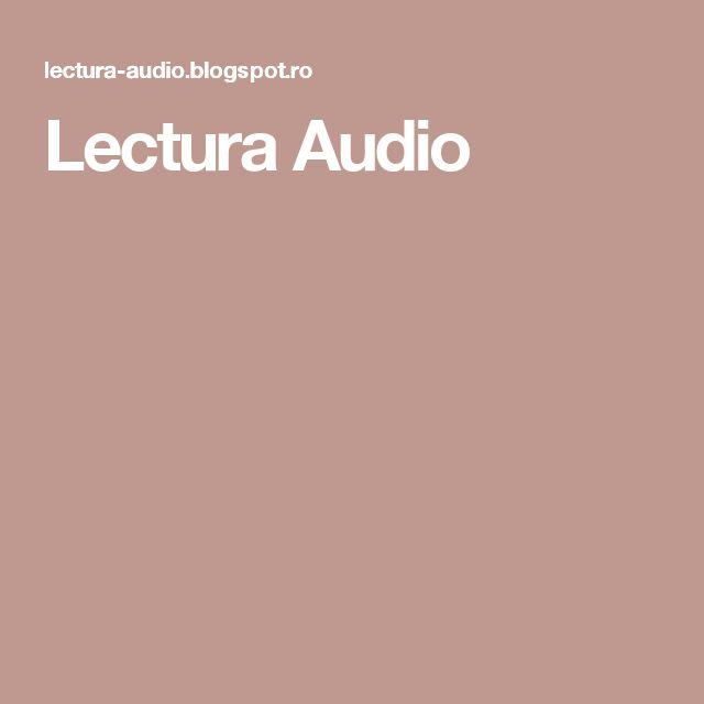Lectura Audio