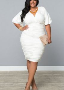 39 best plus size white images on Pinterest | Curvy fashion, Curvy ...