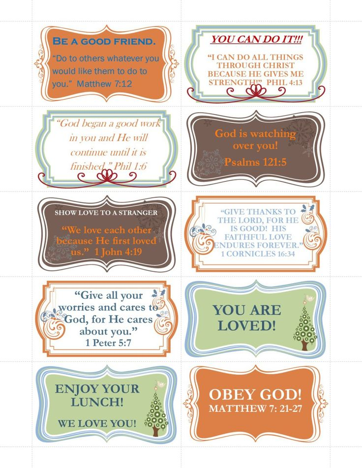 New Scripture Cards-FREE