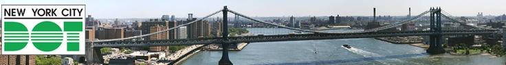 New York City Department of Transportation--Gotta go see the Brooklyn Bridge.