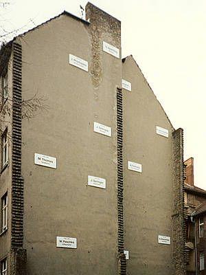 Christian Boltanski, the missing house