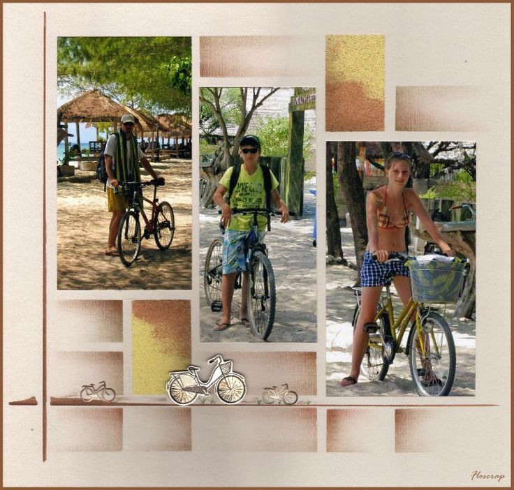 Aujourd'hui petite promenade à vélo autour de Gili Trawangan,un des 3 ilots coraliens situés entre Bali et Lombok. Pas de voiture sur cet...