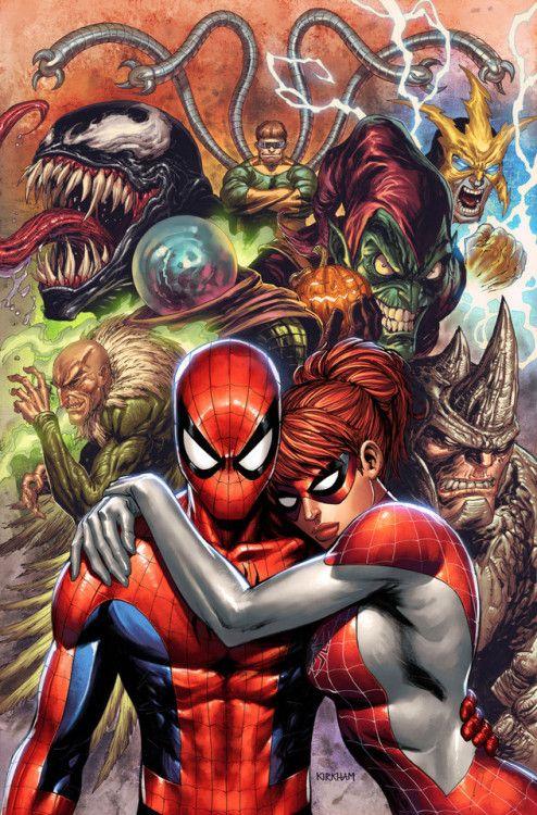 spider man una caricatura muy atractiva y que llama la atención de la gente