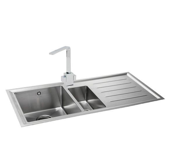 Carron Phoenix, VELA 150 LHD, Stainless Steel Sink