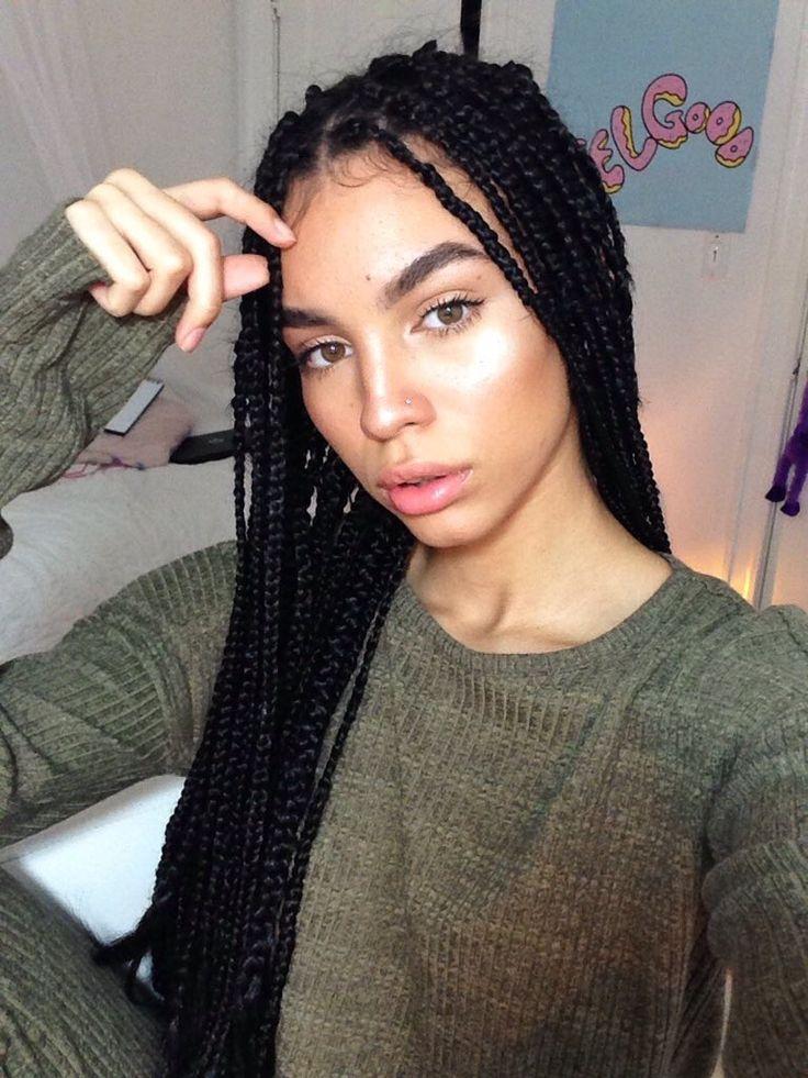 Best 25+ Box braids ideas on Pinterest | Black braids, Box ...