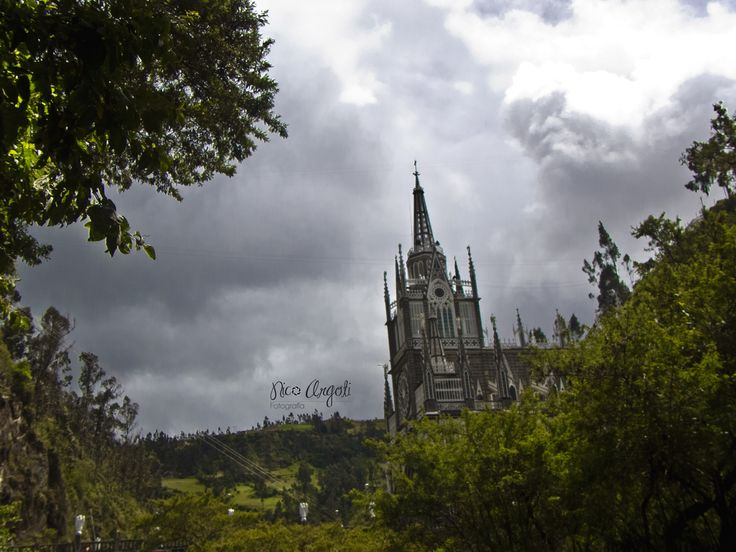 Santuario de las Lajas.  Ipiales - Nariño. Colombia.  #Church #Colombia #Magic