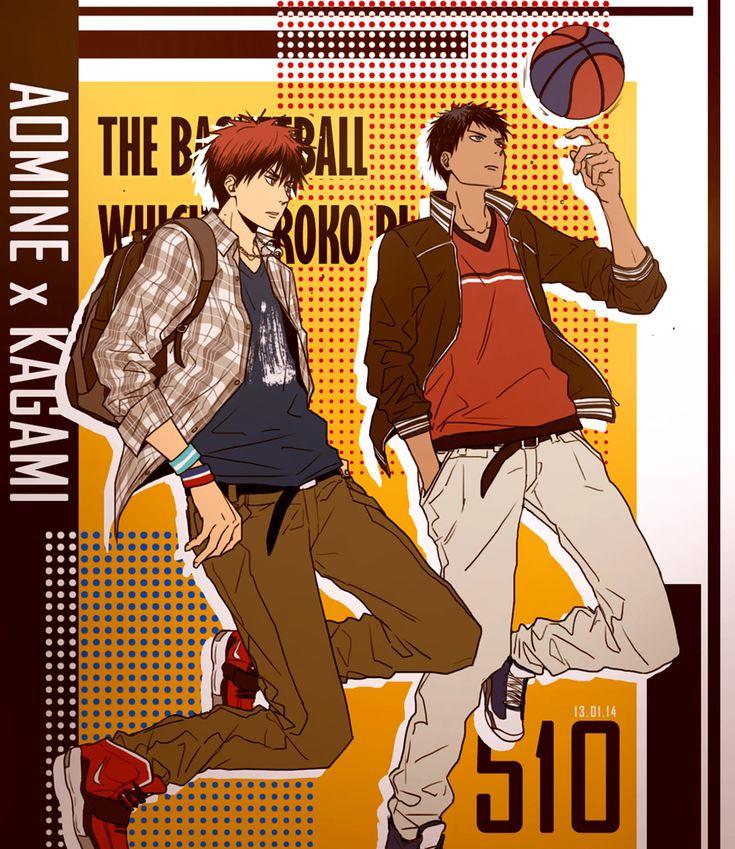 Kagami Taiga and Aomine Daiki, Kuroko no Basket Kuroko