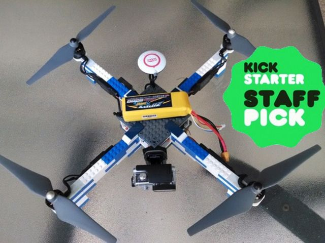 325 best rc drone images on pinterest quadcopter drone aerial gencode systems inc is raising funds for lego brick drone frame on kickstarter diy drone x frame from lego bricks a diy project with fun in mind solutioingenieria Image collections
