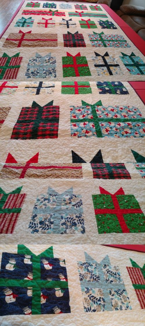 Quilts 116649: Handmade Quilt, Christmas Presents,Gifts, New, Free Shipping -> BUY IT NOW ONLY: $99.9 on #eBay #quilts #handmade #christmas #shipping