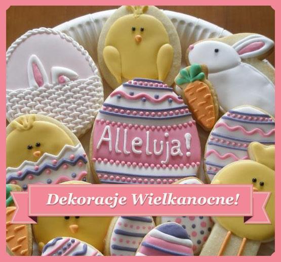 Piękne Dekoracje Wielkanocne - kolorowe i wiosenne!: Cookies, Dekoracje Wielkanocne, Piękne Dekoracje