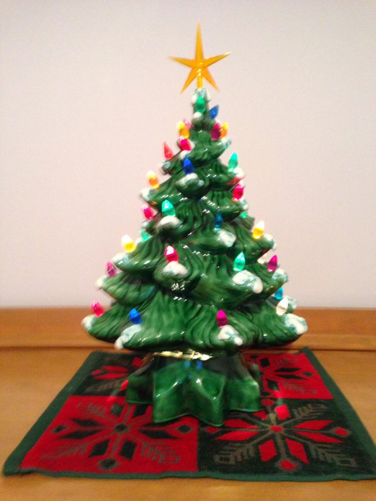 11 Best Images About Ceramic Christmas Trees On Pinterest