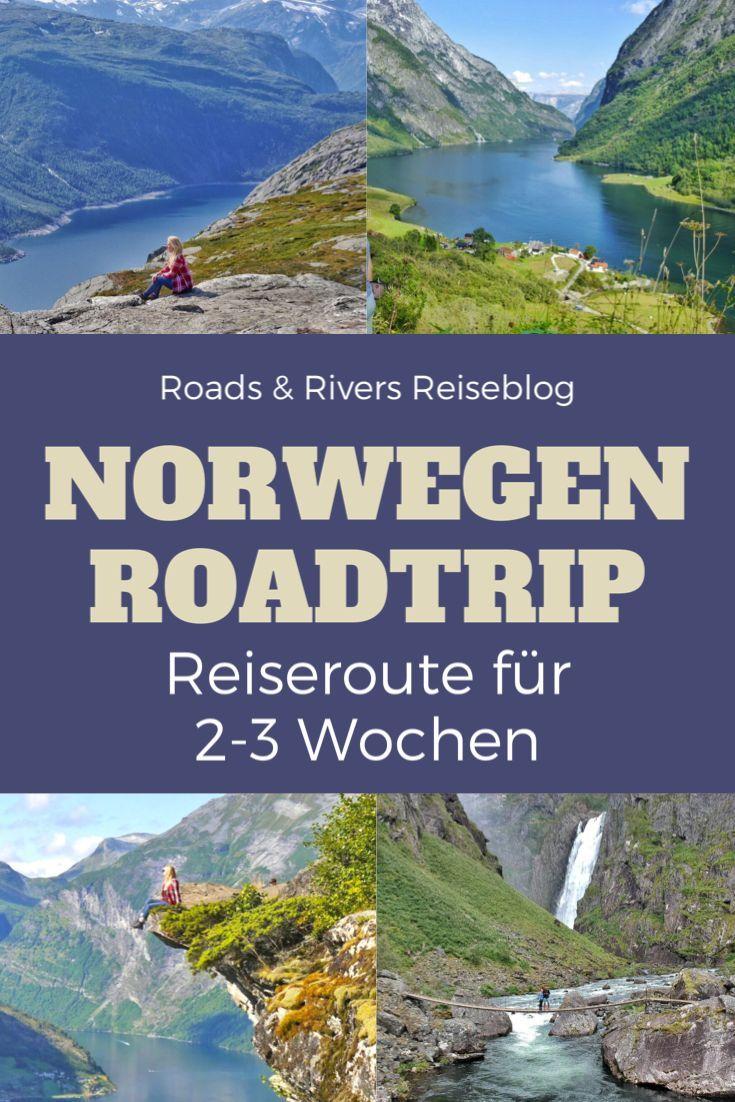 Unser 2 Wochen Roadtrip Durch Sud Norwegen Reiseroute Roads Rivers Norwegen Reisen Norwegen Rundreise Norwegen Urlaub
