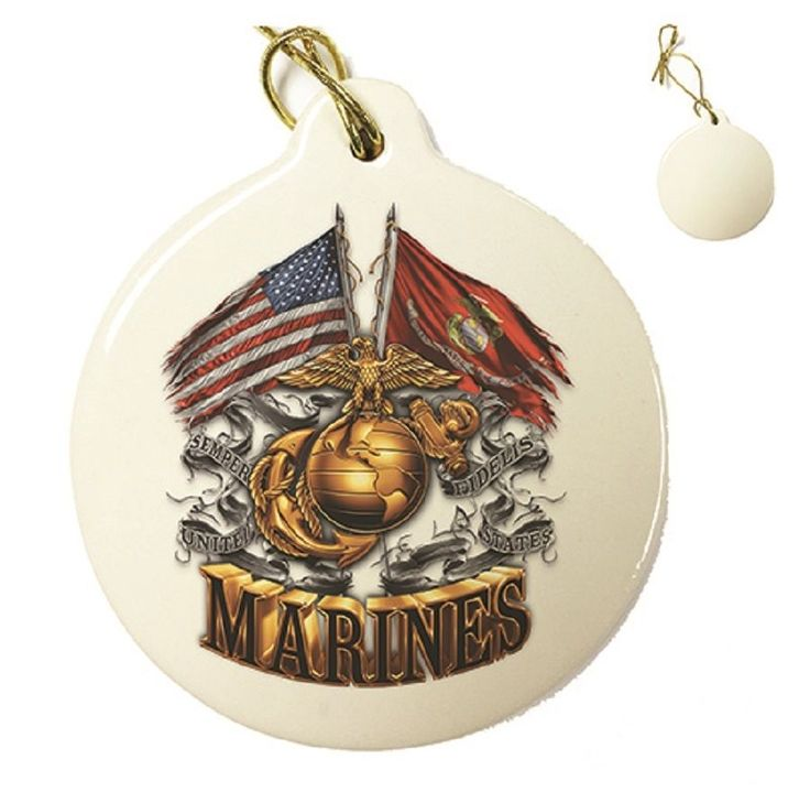 9 best Marine Corps Christmas Ornaments images on Pinterest ...