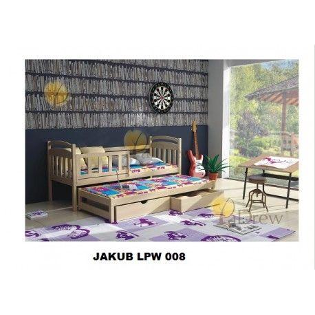 LPW 008, Jakub drevená posteľ ,komplet